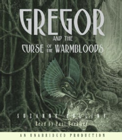 Gregor And the Curse of the Warmbloods (CD-Audio)