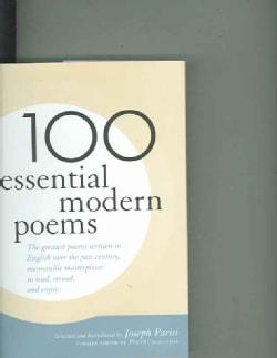 100 Essential Modern Poems (Hardcover)