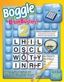 Boggle Brainbusters! 2: The Ultimate Word In Puzzle Fun (Paperback)