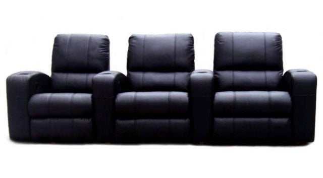 Black-Leather-3-seat-Recliner- ...