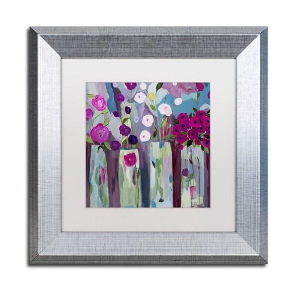 Carrie Schmitt 'Que Sera Sera' Matted Framed Art 25289881