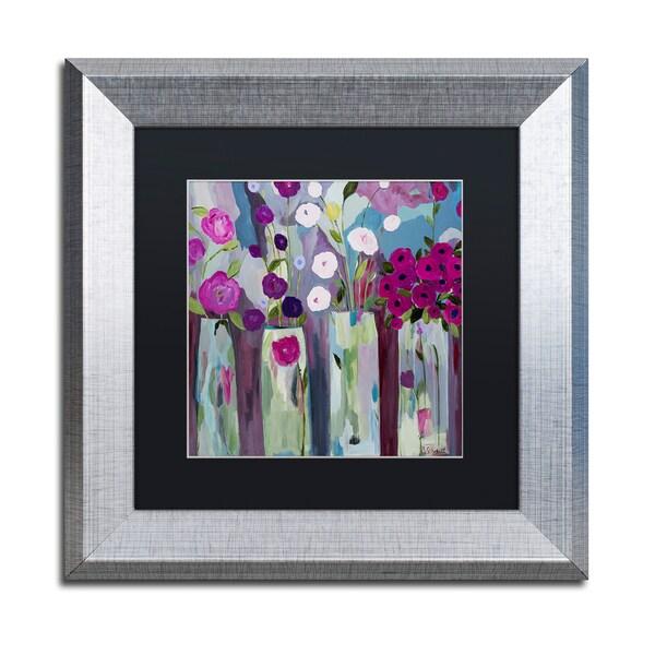 Carrie Schmitt 'Que Sera Sera' Matted Framed Art 25289971