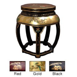 Lacquer Blossom Stool (China)