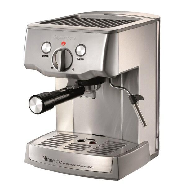 Cafe Minuetto Professional Die-Cast Espresso/Cappuccino Maker 25291699