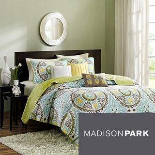 Madison Park Bali 6-piece Coverlet Set