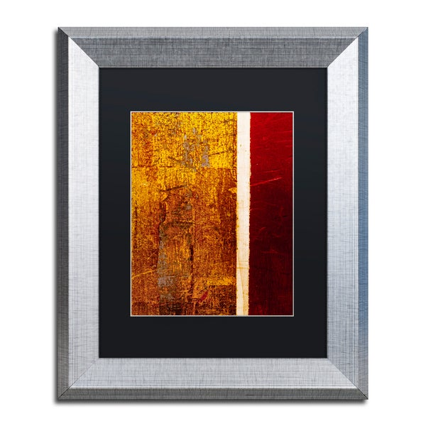Claire Doherty 'Gold Flakes' Matted Framed Art 25309196