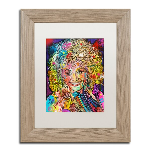 Dean Russo 'Dolly Parton' Matted Framed Art 25318471