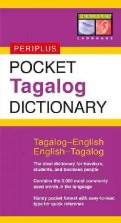 Pocket Tagalog Dictionary: Tagalog-english/english-tagalog (Paperback)