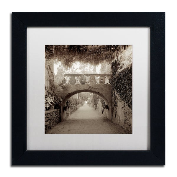 Alan Blaustein 'Giardini Italiano VI' Matted Framed Art 25362084