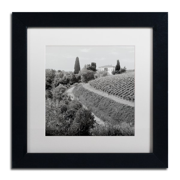 Alan Blaustein 'Tuscany V' Matted Framed Art 25362347