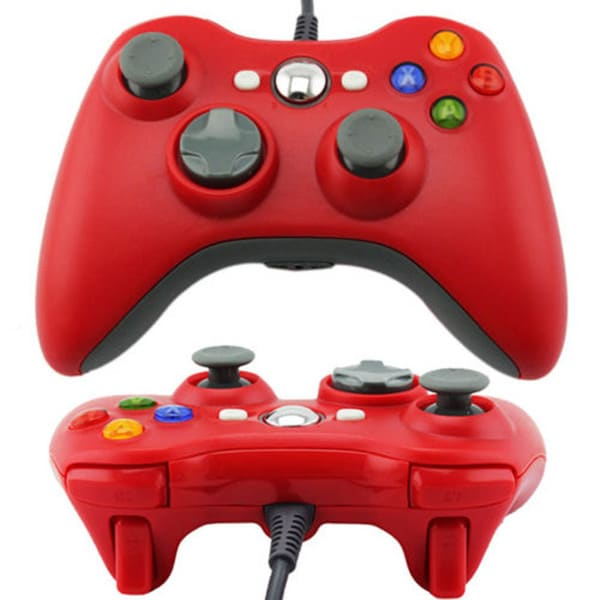 USB Wired GamePad Joypad Controller For Microsoft Xbox 360 Slim PC Windows 25362989