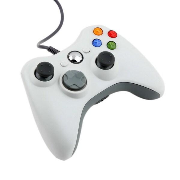 USB Wired Joypad Gamepad Controller For Microsoft Xbox & Slim 360 PC Windows 7 25363008