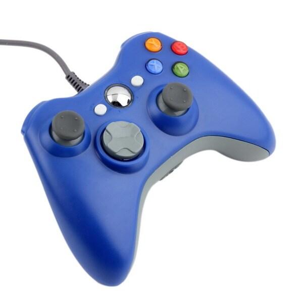 USB Wired Joypad Gamepad Controller For Microsoft Xbox & Slim 360 PC Windows 7 25363015