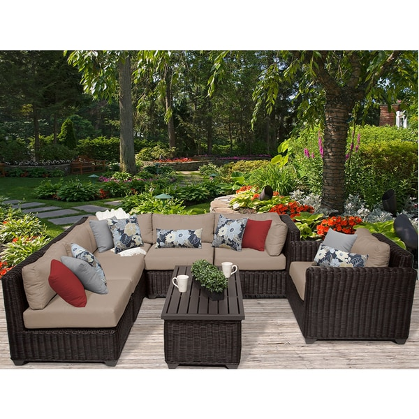 7 piece wicker patio set australia