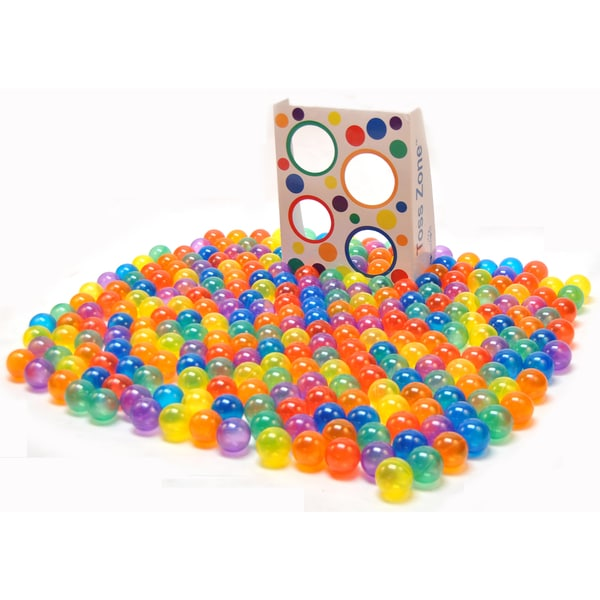 300 Invisiball w/ Toss Zone Non-Toxic Crush Proof Quality Phthalates BPA & Lead Free, 6 Colors 25387359