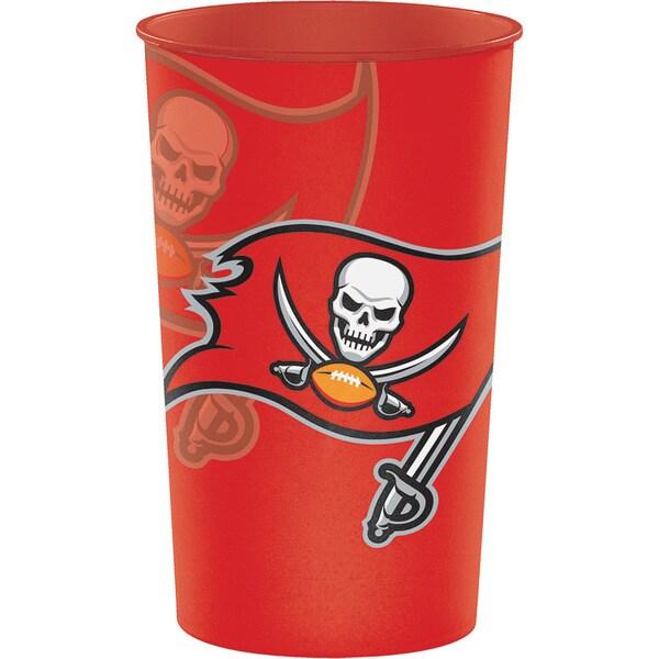 Tampa Bay Buccaneers 22 oz Plastic Souvenir Cups, Case of 20 25388548