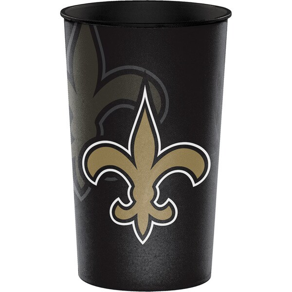 New Orleans Saints 22 oz Plastic Souvenir Cups, Case of 20 25388565