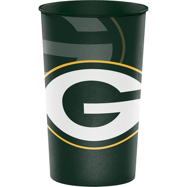 Green Bay Packers 22 oz Plastic Souvenir Cups, Case of 20 25388579