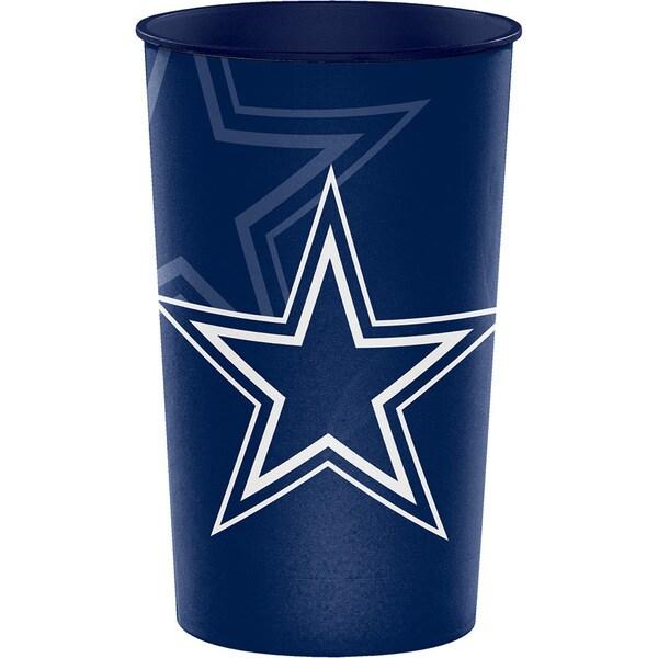 Dallas Cowboys 22 oz Plastic Souvenir Cups, Case of 20 25388583