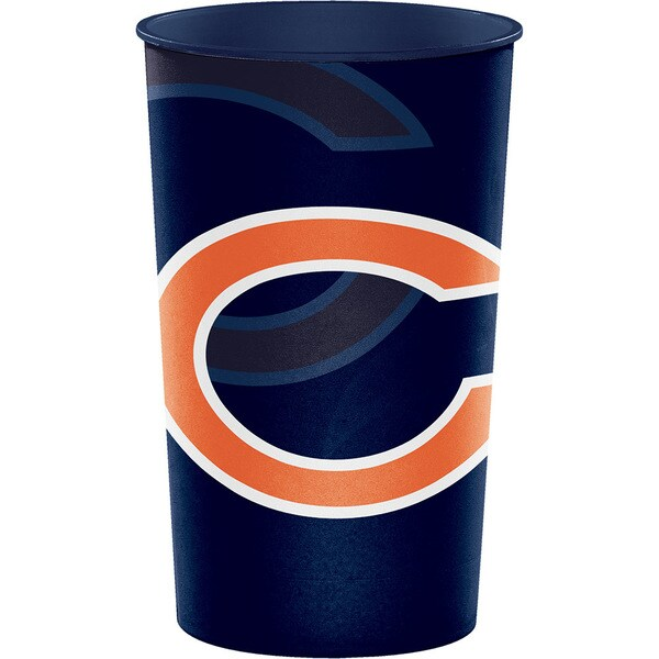 Chicago Bears 22 oz Plastic Souvenir Cups, Case of 20 25388587