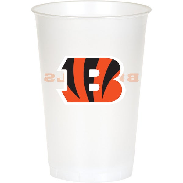Cincinnati Bengals 20 oz Plastic Cups, Case of 96 25388639