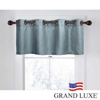 Grand Luxe Braxton Window Valance