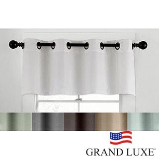 Grand Luxe Linen Gotham Grommet Valance