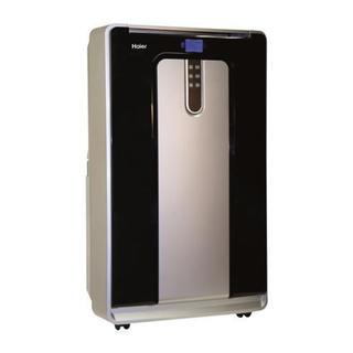 Haier 14,000 BTU, Heat and Cool Dual Hose Portable Air Conditioner 25398864