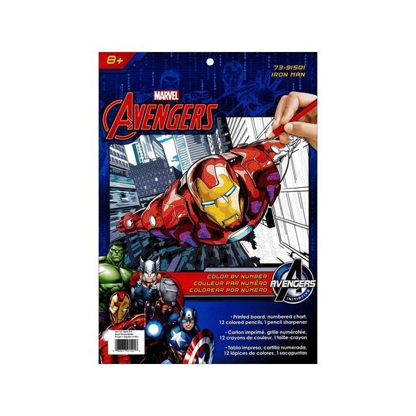 Dimensions Color By Number 9x12 Iron Man 25404235