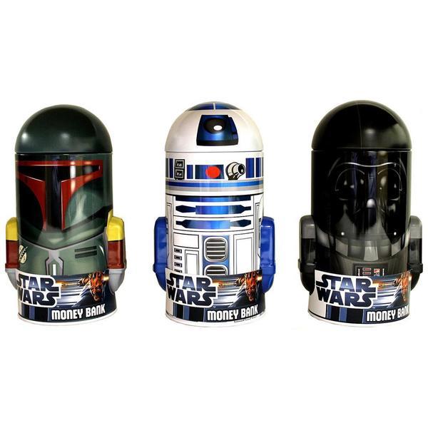 Tin Box Co Head Shaped Bank Star Wars Astd 25409112