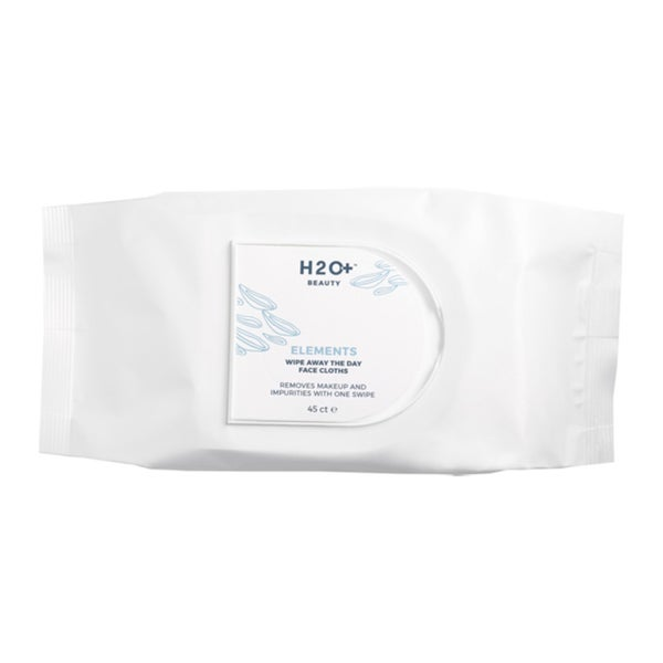 H2O Plus Elements 45-Count Wipe Away The Day Face Cloths 25428988