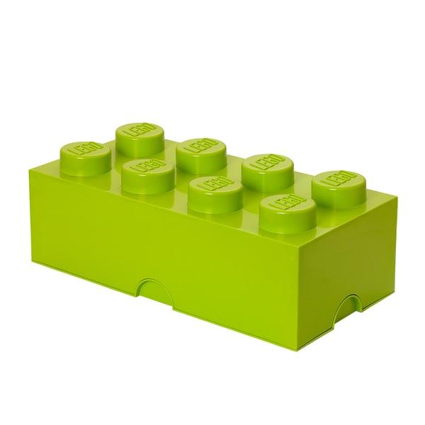 LEGO Storage Brick 8 Lime Green 25448679