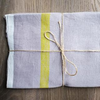Caravan Laundered Linen Tea Towels Set of 2