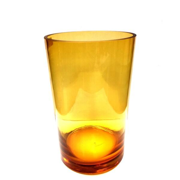 Amber Cylinder Vase 25489929
