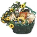 Sunflower Treats Large Gift Basket