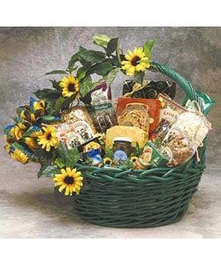 Sunflower Treats Medium Gift Basket