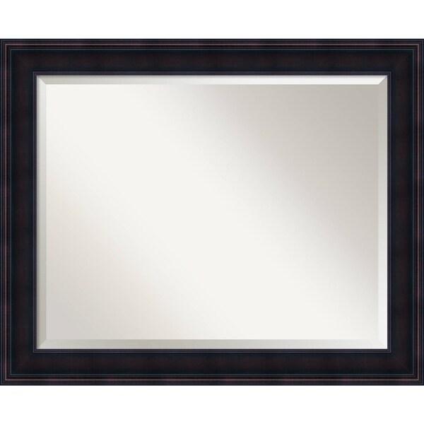 Bathroom Mirror Large, Annatto Mahogany 33 x 27-inch 25532176