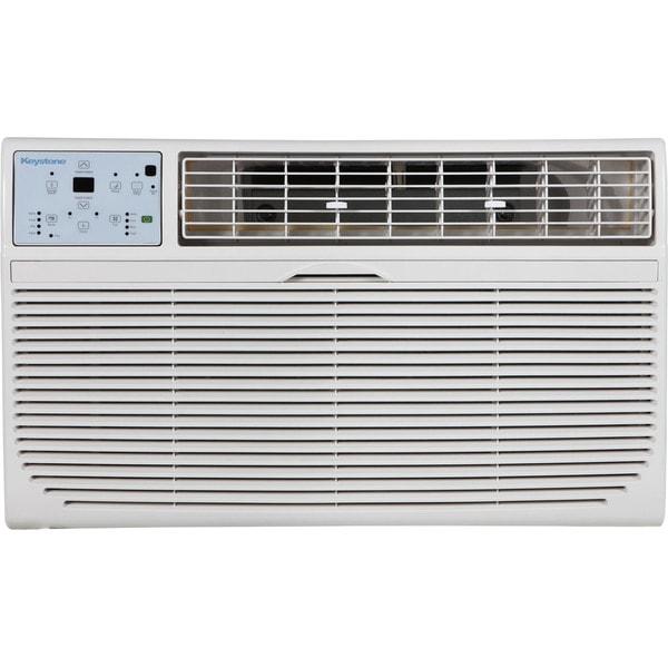 Keystone 12,000 BTU 230V Through-the-Wall Air Conditioner with 10,600 BTU Supplemental Heat Capability 25537143