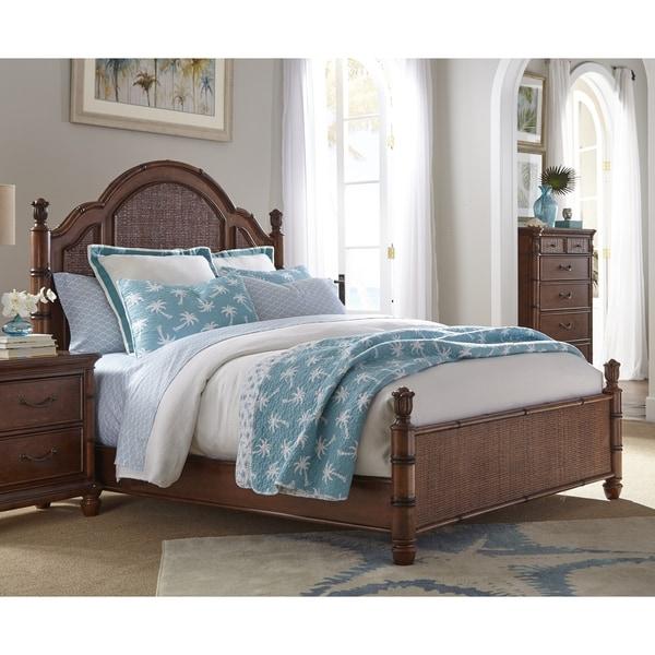 Isle of Palms Light Mahogany Panel Bed by Panama Jack 25574559