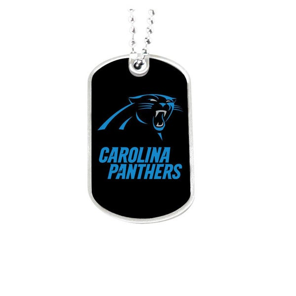 NFL Carolina Panthers Dog Tag Necklace 25575228