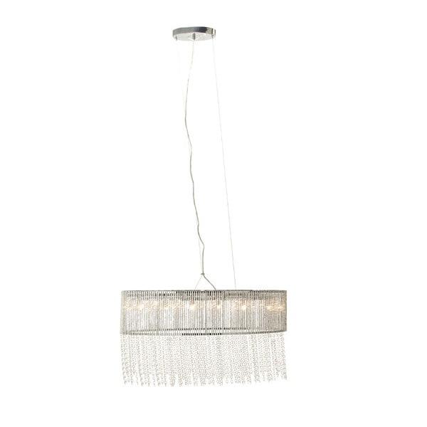 Benzara Glass Beaded Hanging Lamp 25582395