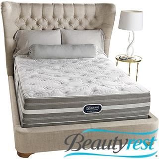 Beautyrest Recharge World Class Sea Glen Plush Queen-size Mattress Set