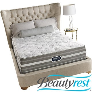 Beautyrest Recharge World Class Sea Glen Luxury Firm Super Pillow Top Queen-size Mattress Set
