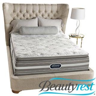 Beautyrest Recharge World Class Sea Glen Plush Super Pillow Top Queen-size Mattress Set