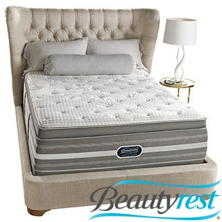 Beautyrest Recharge World Class Rekindle Plush Super Pillow Top Queen-size Mattress Set