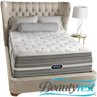 Beautyrest Recharge World Class Rekindle Luxury Firm Super Pillow Top Queen-size Mattress Set