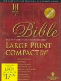 Holy Bible: Holman Christian Standard Bible, Burgundy, Bonded Leather, Large Print Compact, Snap flap Bible (Paperback)
