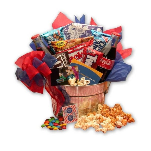 Blockbuster Movie Pail Gift Box
