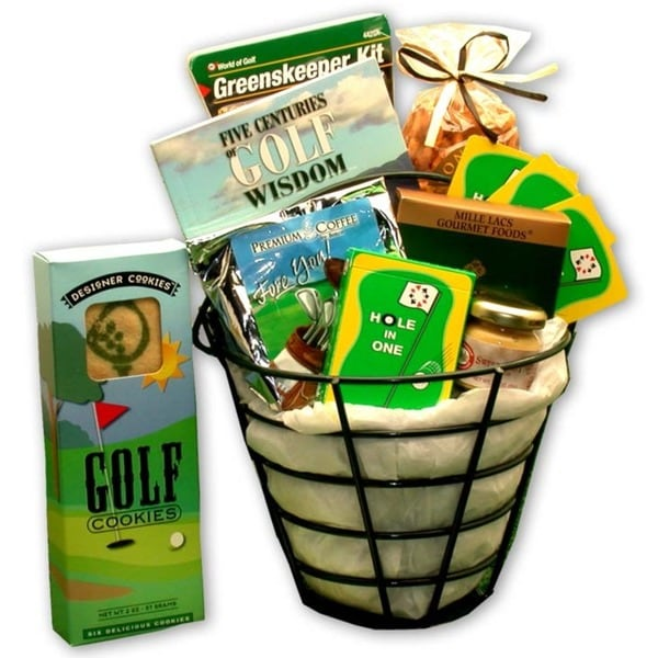 Golf Caddy Gift Basket
