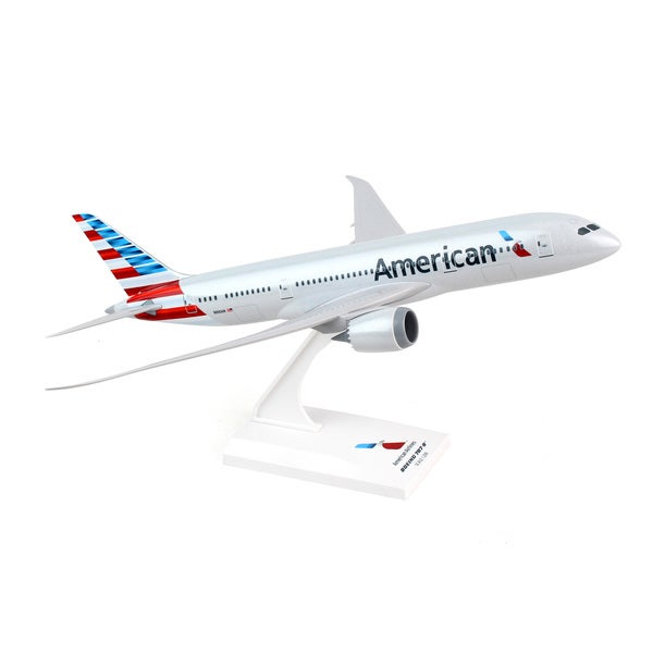 Daron Worldwide Trading Sky Marks American Airlines Boeing 787-8 1/200 Scale Model Kit 25612667